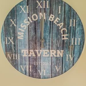 Mission Beach Tavern Clock