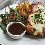 chicken parmy